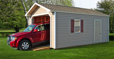 single car garages and other structures available in Pine Creek Structures of Connellsville, PA